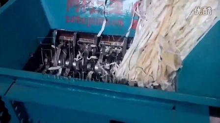 刀式磨粉机撕碎机碎磨纸碎布碎磨棉纱成粉末--同利三维撕碎机刀式磨粉机