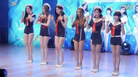 T-ara 水手服MV饭拍现场live版 T-ARA长腿性感热舞1