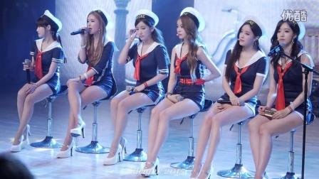 韩国美女组合T-ara水手服 T-ARA饭拍 t-ara美腿热舞现