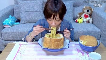 【大吃货爱美食】木下佑哗养不起系列之自制面包碗+3人份的咖喱乌冬面篇~ 150915