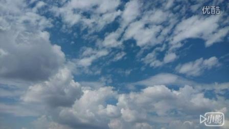 初秋迷人的蓝天白云 配乐自唱《甜蜜蜜》哈。。。