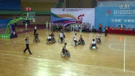 封神一战——全运会轮椅篮球林银海的九个三分