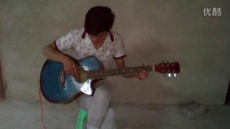 南宁牛人 用吉他弹出让人流泪的《再回首》