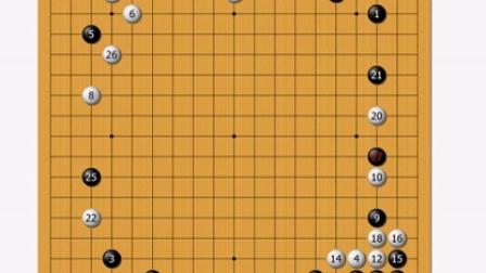林锋5段班微课堂54---序盘篇之一行棋的次序