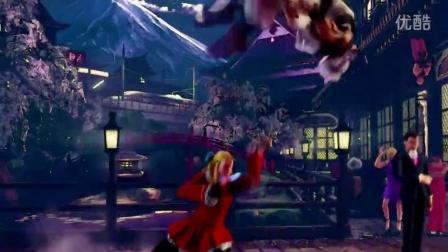 神月卡琳--街霸5宣傳片