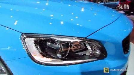 [新车]2014年的多伦多车展内外实拍2014年的沃尔沃Volvo S60 Polestar --汽车视频