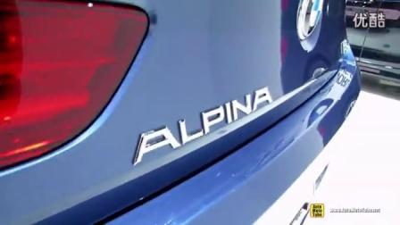 [新车]2014年的纽约车展内外实拍2015年的宝马BMW Alpina B6 Gran Coupe-汽车视频