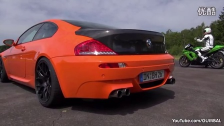 [新车]BMW M6 V10 w- KKS Exhaust vs Audi RS7 Sportback vs Capristo-汽车视频