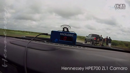 [新车]Hennessey ZL1 Camaro Runs 203.9 MPH on Texas Toll Road-汽车视频