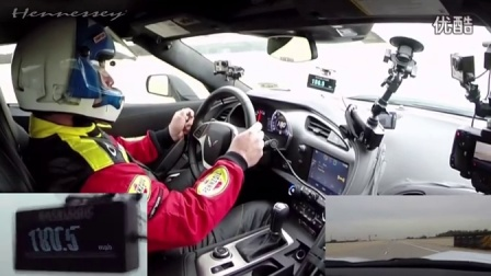 [新车]Hennessey改装克尔维特C7 Corvette 德州高速狂飙200 MPH-汽车视频