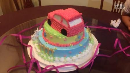 萠萠周岁生日蛋糕