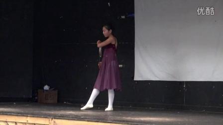 黄嘉轶单独舞蹈