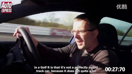 [新车]大众Volkswagen Golf R vs SEAT Leon Cupra赛道对比测试-汽车视频