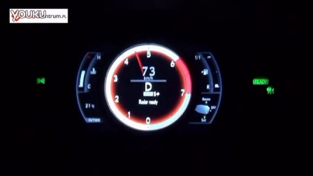 [新车]雷克萨斯Lexus IS 300h 223马力  0-100 km-h加速-汽车视频