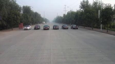 成武幸福起步婚车车队之六辆朗逸车展示小片