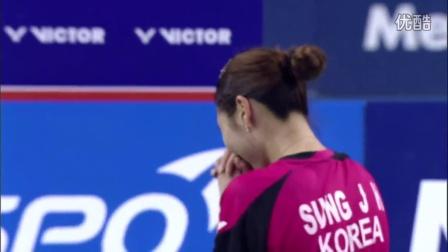 2015韩国羽毛球超级赛决赛精彩集锦