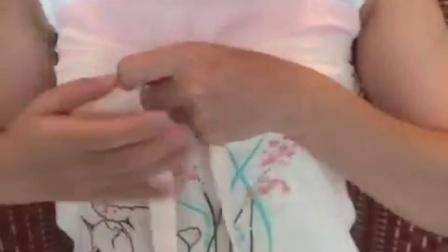 汉尚华莲汉服 抹胸诃子穿着教程视频 如何穿着裹胸 穿法 怎么穿