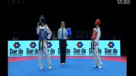 2015年跆拳道世界大奖赛土耳其站-女子49KG中国吴静钰VS泰国决赛