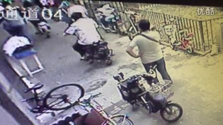 北京市朝阳门南小街内务部街1号山地车被盗视频