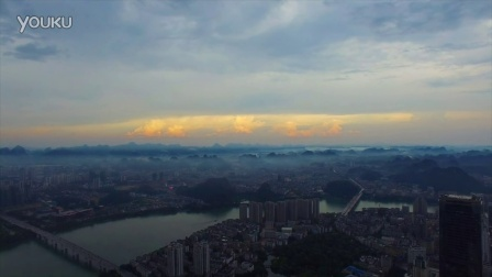 雨后的下午 柳州
