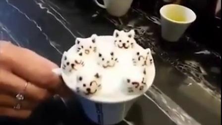 这卡布奇诺,晃一晃就停不下来……Such a Cute Coffee!