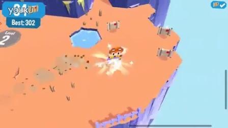 《划动浮空岛》(Land Sliders )游戏宣传片【游吧手机游戏】