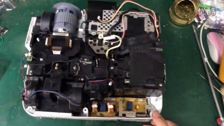 安陆星马科技手机电脑维修 NEC投影机维修拆机教程