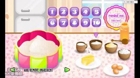 神羽无解说小游戏之制作美味蛋糕游戏视频