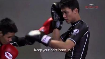 格斗教学-膝肘配合KO对手