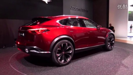Mazda Koeru CX-4,马自达CX4,最漂亮的的一段视频