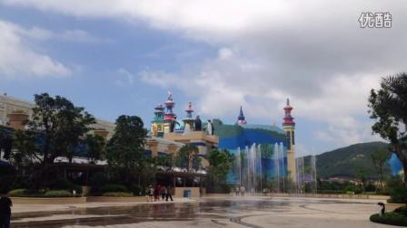 广州双润专业喷泉设计生产厂商---珠海长隆海洋王国旱池音乐喷泉广场音乐喷泉