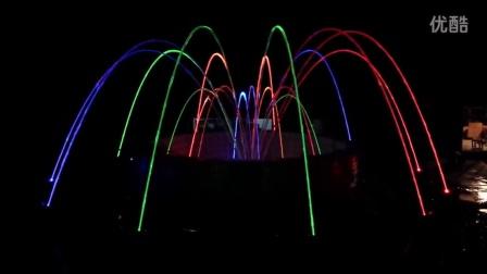 广州双润专业喷泉设计生产厂商----中小型玻光泉样品池 音乐喷泉