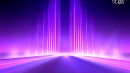 [素材TV]紫色线条背景高清LED舞台晚会背景视频素材