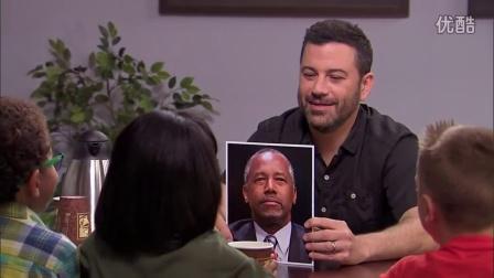 Jimmy Kimmel:小朋友谈大选part2[中英字幕-闻风听译]