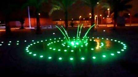 广州双润专业喷泉设计生产厂商------大信旱地玻光跳泉 玻光音乐喷泉