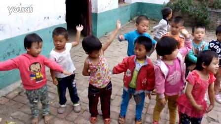 大胡村春光幼儿园小班我是一个粉刷匠儿歌舞蹈视频