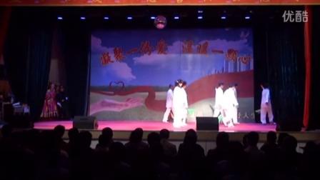 2015年9月12日兴安盟烛拉爱心慈善协会到内蒙古图牧吉戒毒所慰问演出4