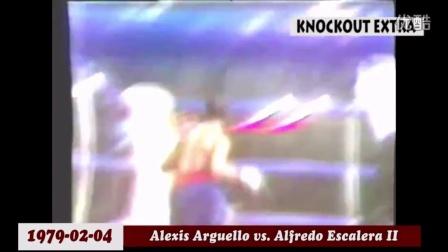 阿力克西斯-阿奎罗KO集锦 ALEXIS ARGUELLO KNOCKOUTS HD