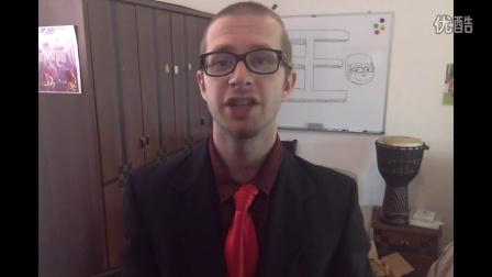 老外王霸胆教你如何用英语活在当下  原创英语学习视频 英语听力基础入门 地道美语发音教学视频 英语口语日常学习视频 英语音标发音教学视频