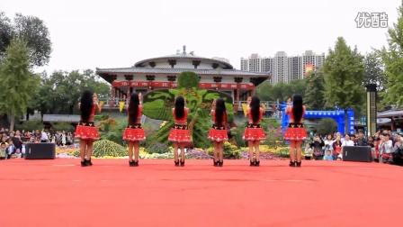 云南省普洱市西盟佤族自治县舞蹈队表演