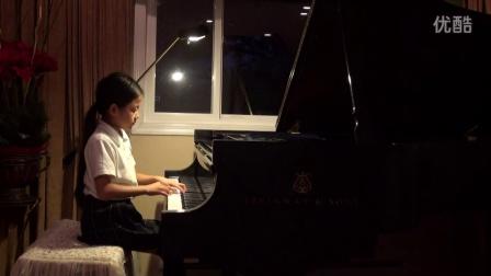 8岁王馨仪演奏《北风吹》