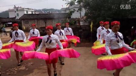 福建龙岩连城县宣和乡科南村姐妹军鼓队纪念公太团体舞----全家福