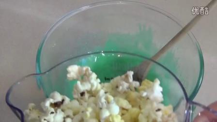 JELLO POPCORN CAKE RECIPE|SimpleCookingChannel|151008