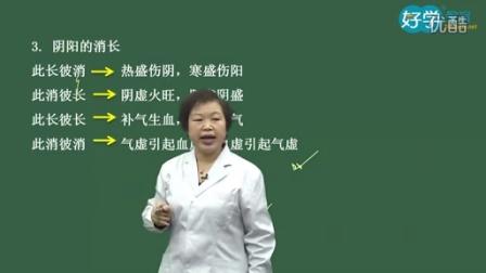 2015中药师《中药综合知识与技能》全解-第一章中医基础理论第二节阴阳学说
