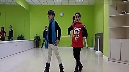 儿童模特走秀基础动作教学视频[高清]