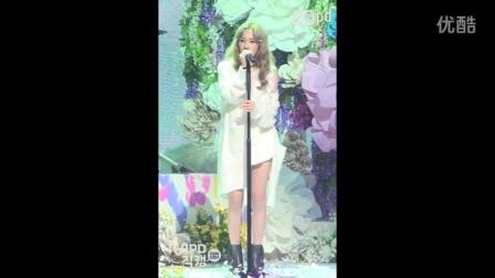 151008 M!CountDown MPD 少女时代 金泰妍 - I Solo初舞台现场