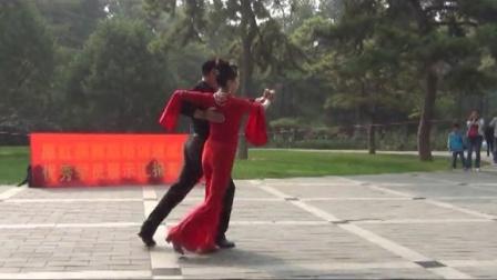 原红燕舞蹈培训速成班-规范交谊舞-探戈(原老师和优秀学员吴星精彩表演)