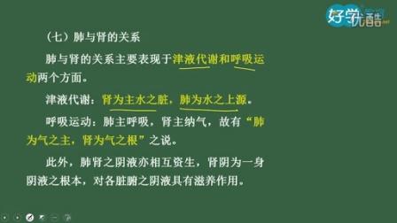 2015中药师《中药综合知识与技能》全解班8-第一章中医基础理论第四节藏象4-李雪巧