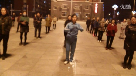 乾安县开心快乐广场舞20步红太阳的光辉照