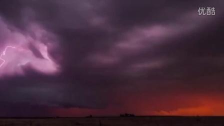 震撼的极端天气延时摄影